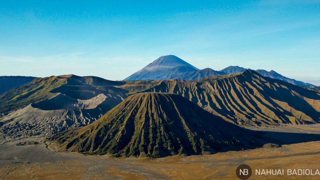 Volcanes en el PN Bromo, Indonesia
