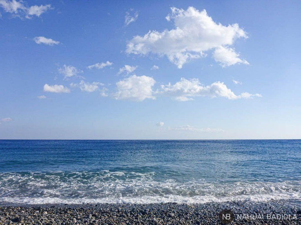 Playa de Sougia al final del sendero E4
