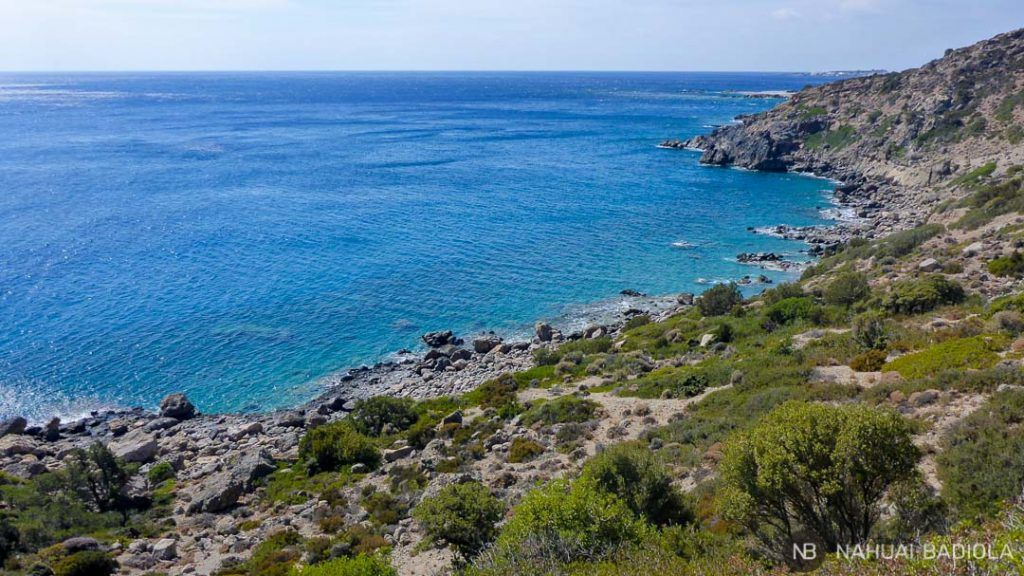 Trekking de costa entre Paleochora y Sougia