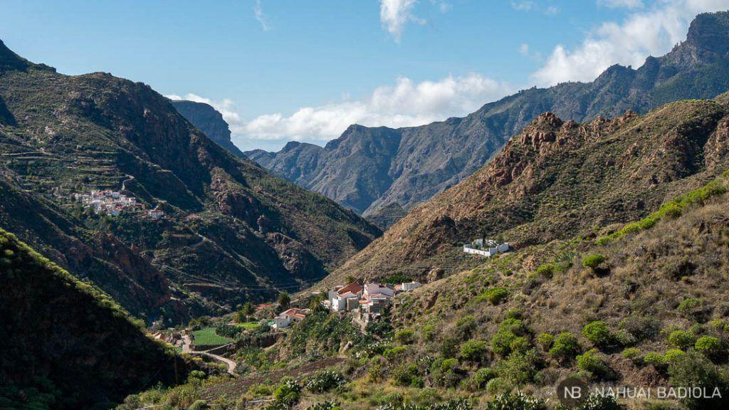 Vistas sobre la Solana, Gran Canaria