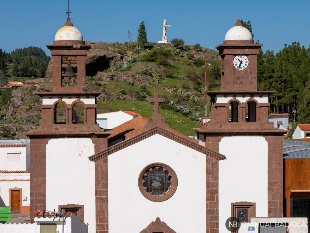 Iglesia Artenara Canarias
