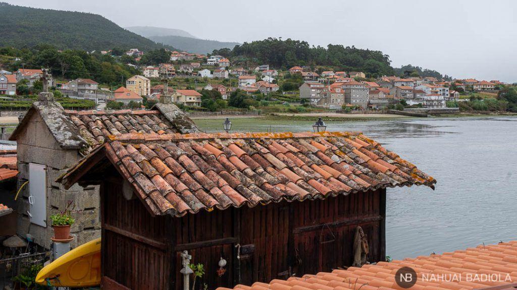 Hórreos en Combarro, Galicia
