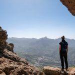 Ruta desde Artenara a las Cuevas del Caballero y los Candiles