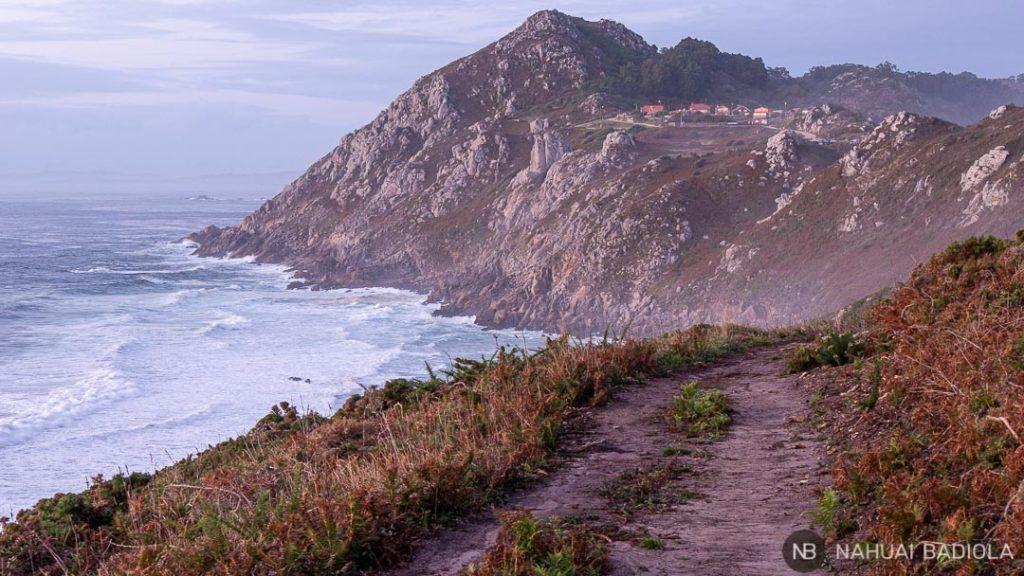 Anochece en el cabo do Home, Galicia