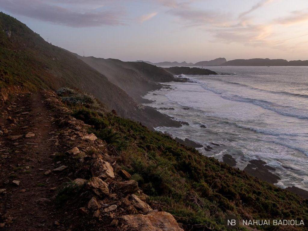 Cabo do Home al atardecer, Galicia