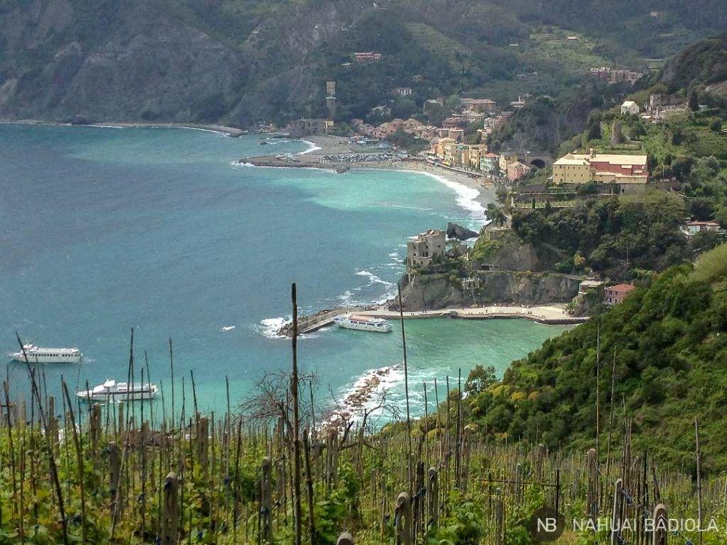 Monterosso desde el sendero azul, 5 Terre