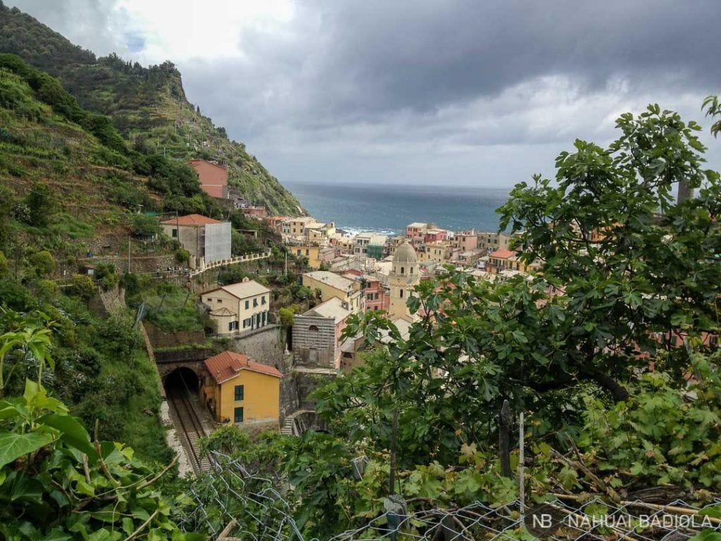 Llegada a Vernazza desde Monterosso