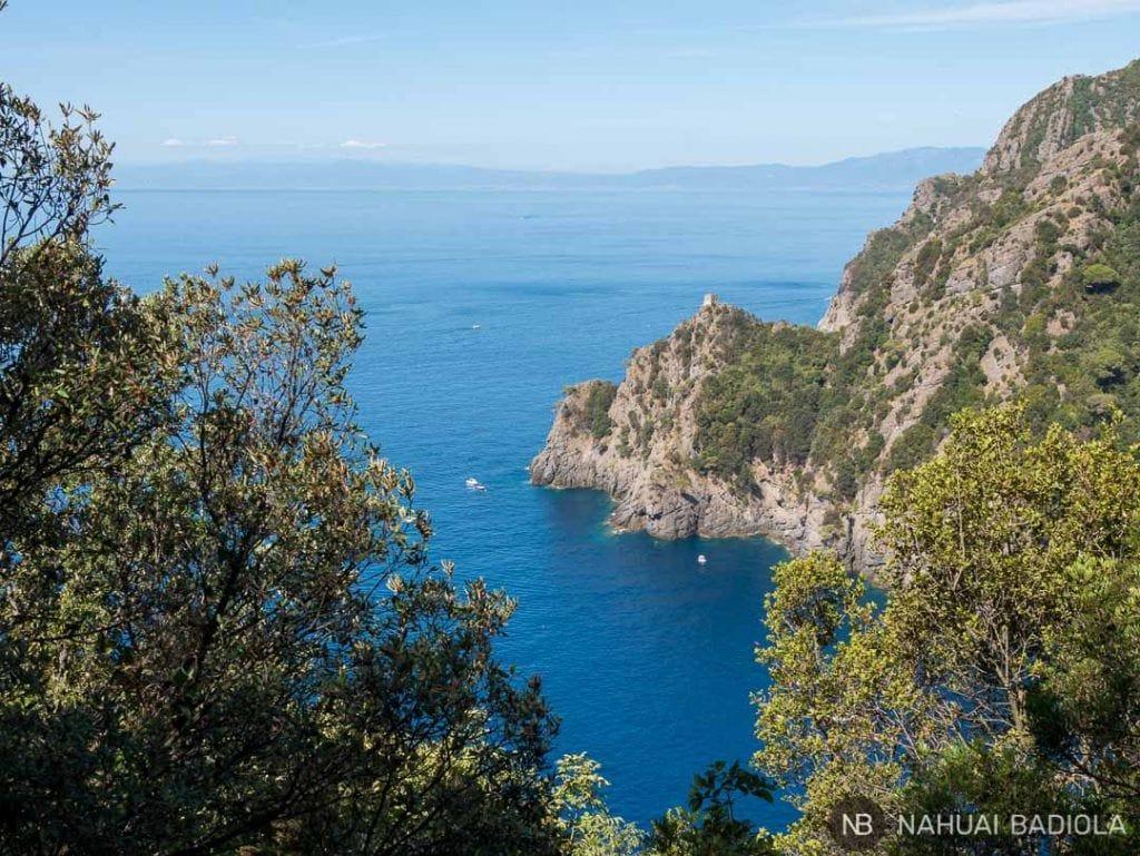 Litoral del parque natural de Portofino