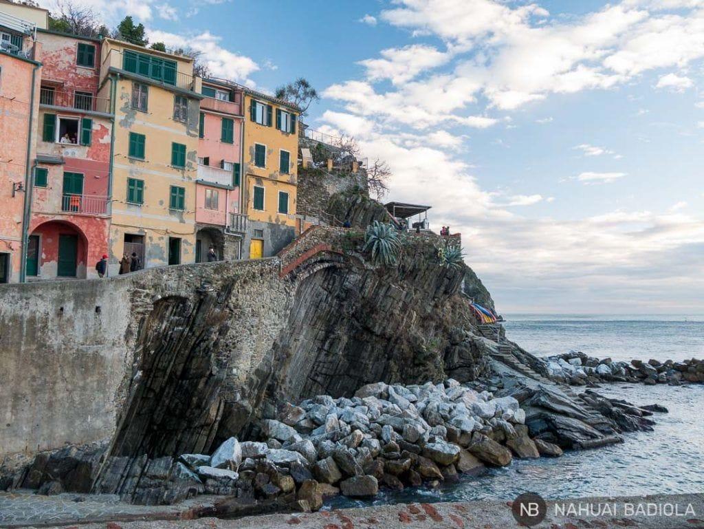Puerto de Riomaggiore, Liguria.