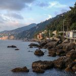 Ruta de Camogli a San Rocco y Punta Chiappa