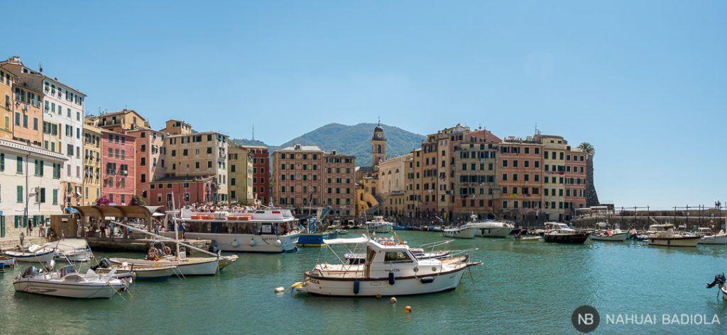 Barco turístico partiendo de Camogli a San Fruttuoso
