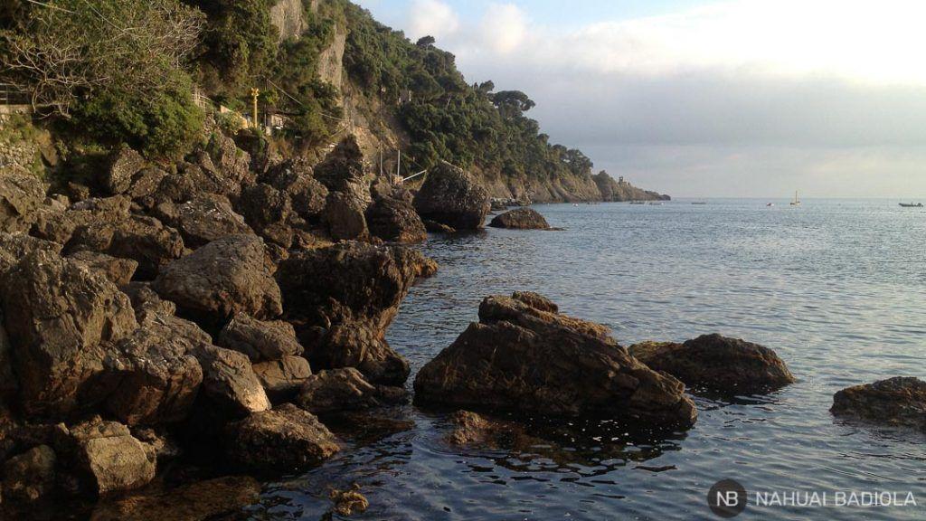 Casi en Punta Chiappa, Portofino.
