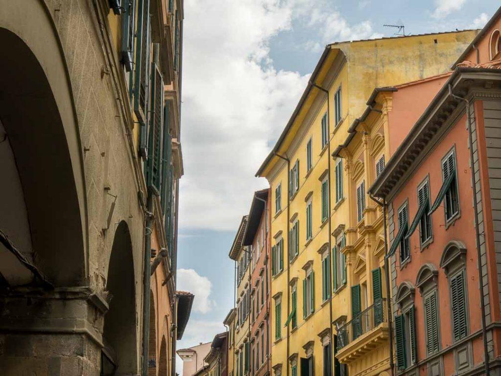 Callejuela en Pisa