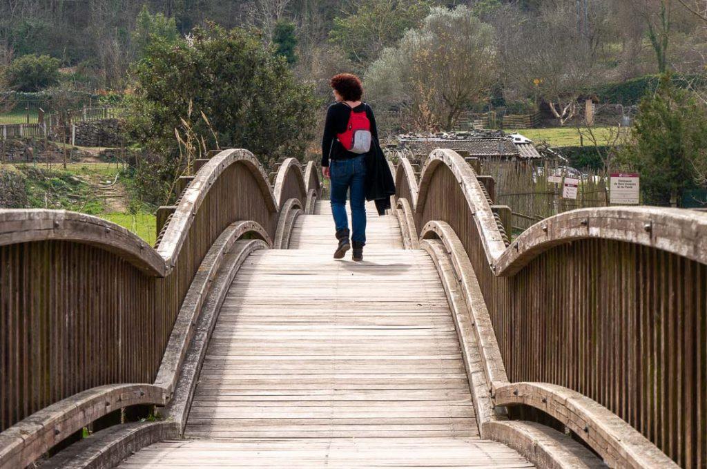 Puente con vistas a Castellfollit