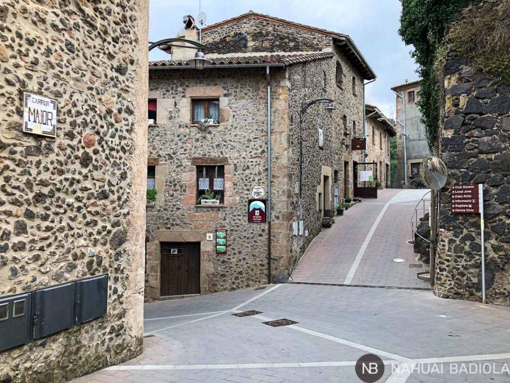 Calles de Santa Pau