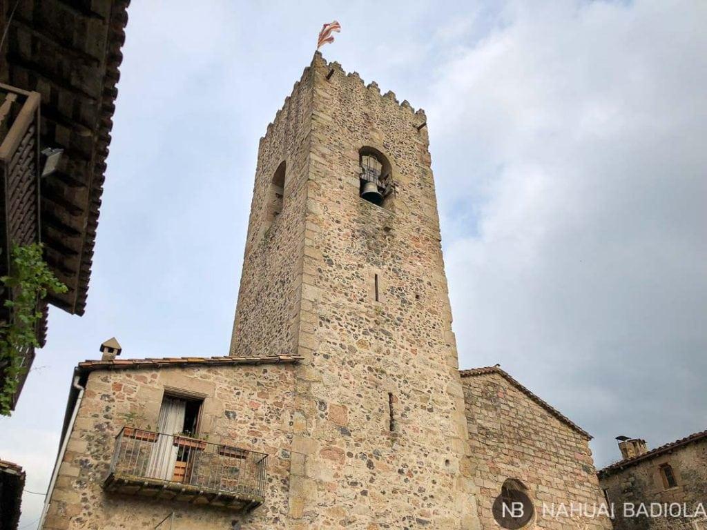 Iglesia de Santa Pau, la Garrotxa